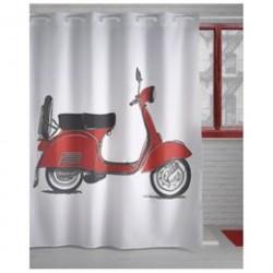 Atenas badeforhæng - Moto - Rød