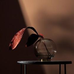 AYTM Globe Vase Black/Gold Medium