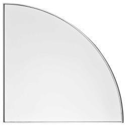 Aytm unity spejl 1/4 cirkel (sølv/lx25w1,2xh25 cm)