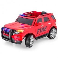 Azeno elbil - SUV brandbil - Rød