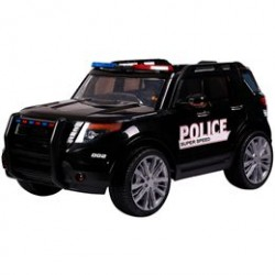 Azeno elbil - SUV politibil - Sort