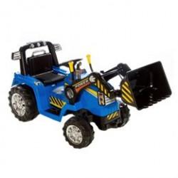 Azeno elbil - Traktor med skovl - Blå