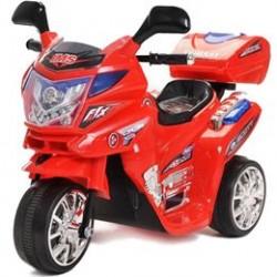 Azeno Night Rider motorcykel - Rød