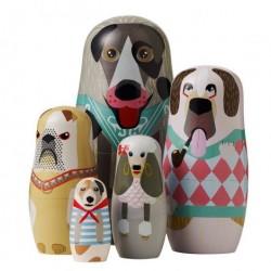 Babushka dukker (hunde)