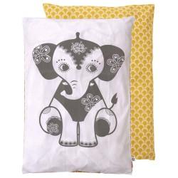 Babysengetøj - Roommate - SoulMate Elephant, grå/okker