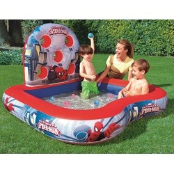Badebassin Spiderman Interaktiv 155 x 155 cm