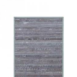 Bambus mÅtte s (grÅ/grØn)