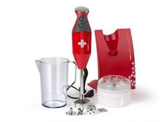 Bamix Stavblender Swissline 200W rød