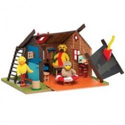 Bamses hus - 34 x 26 cm