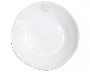 Bastian Nova salats-/pastatallerken dyb hvid 25 cm