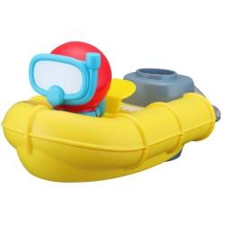 BB Junior badelegetøj - Redningsbåd med fører