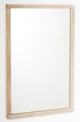 Belina Spejl - Lys eg 90x60