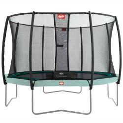 BERG Deluxe sikkerhedsnet til trampolin - 380 cm