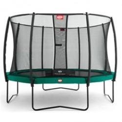 Berg trampolin med net - Champion - Ø 330 cm