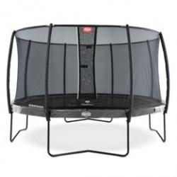 Berg trampolin med net - Elite - Ø 380 cm