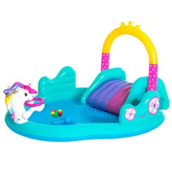 Bestway badebassin - Magical Unicorn Carriage Play Center - 220 liter