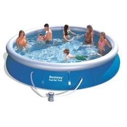 Bestway Fast Set Pool 457x91cm m/filterpumpe
