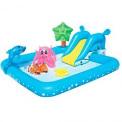 Bestway oppusteligt badebassin - Aquarium Play Pool