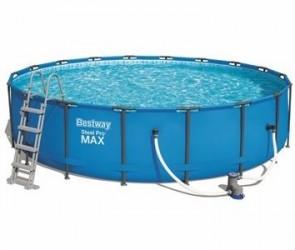 Bestway Pool 549 x 122 cm - Kæmpe luksusbassin