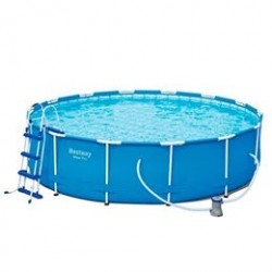Bestway pool - Steel Pro Frame - 12.110 liter - Blå