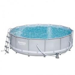 Bestway pool - Steel Pro Frame - 12.110 liter - Grå