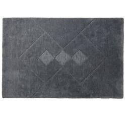 Bettina Juul Eilersen gulvtæppe - R7 Hera - 120 x 180 cm - Grå
