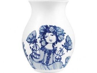 Bjørn Wiinblad Amelia Vase Blå 21 cm