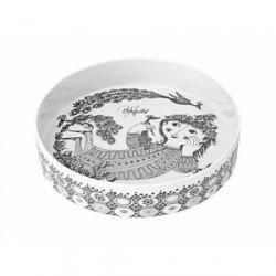 Bjørn Wiinblad Fad Porcelæn Grå 28 cm