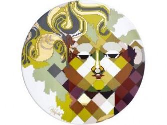 Bjørn Wiinblad Fad Porcelæn Multifarvet 30 cm