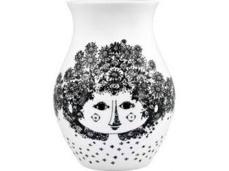 Bjørn Wiinblad Felicia Vase Sort 18 cm