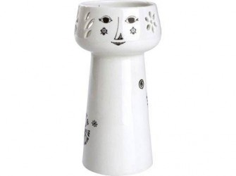 Bjørn Wiinblad Vase Hvid 15 cm