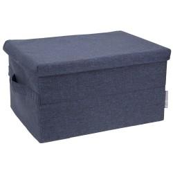 Blå opbevaringskasse - large