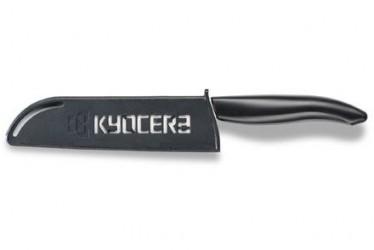 Bladbeskyttelse, sort plast, Kyocera logo, 13 cm