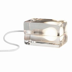 Block Lamp - hvid ledning