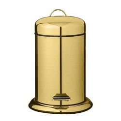 Bloomingville Skraldespand Guld Metal 22x29,5cm