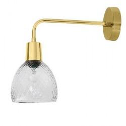 Bloomingville Væglampe Glas Klar 14x33 cm