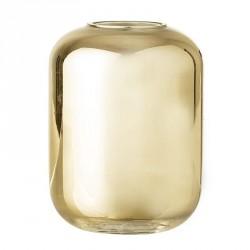 Bloomingville vase, guld, glas