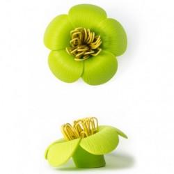 Blossom papirclips holder (grØn)