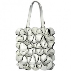 Blossom taske (medium/hvid)