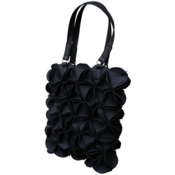 Blossom taske (medium/sort)