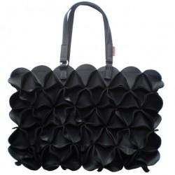 Blossom taske (stor/sort)