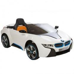 BMW elbil - 18 Concept - Hvid