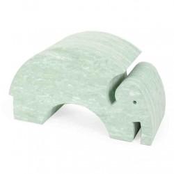 Bobles elefant (grØn marmor)