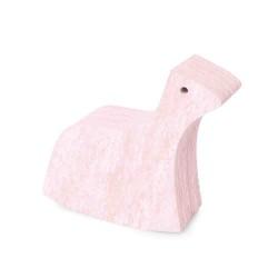 Bobles hest (lyse rosa marmor)
