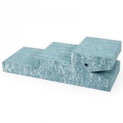 Bobles krokodille (lys blÅ marmor)