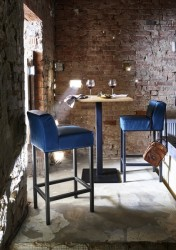 Bodahl Nizza bar/køkkenbord - 80x80 Barbord - 105 cm højde
