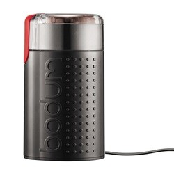 Bodum BISTRO Elektrisk kaffemølle blank Sort