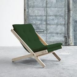 Boogie Lounge stol - Grøn/Raw