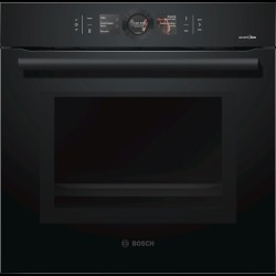 Bosch AccentLine Series 8 integreret ovn Carbon Black