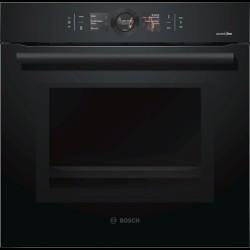 Bosch AccentLine Series 8 integreret ovn Carbon Black